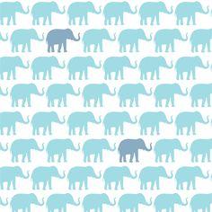 Elephant removable wallpaper