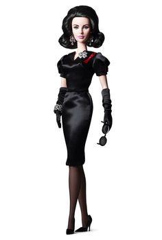 エリザベス・テイラー(リズ) ヴァイオレット・アイズ バービー Elizabeth Taylor (Liz) Violet Eyes Doll W3495 ハリウッドコレクション Hollywood Collections エリザベス・テイラー Elizabeth Taylor のバービー通販 激安の専門ショップ エクスカリバー