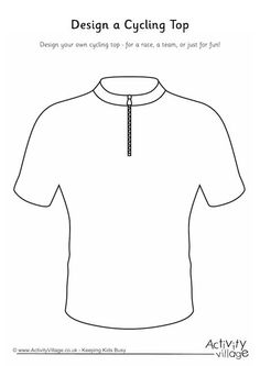 Design a cycling top