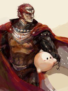 Ganondorf and Kirby.