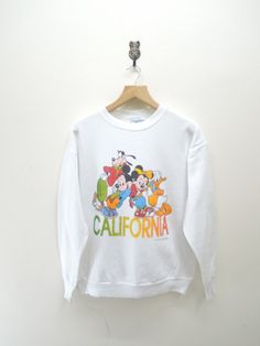 Vintage Disney Animation Character California by RetroFlexClothing
