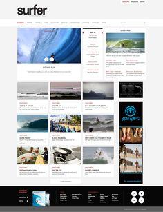 Surfer Magazine Website