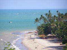Praia Cabo Branco - João Pessoa - Paraíba - Brasil Paraiba, Beaches In The World, Natural Wonders, Beach Trip, Rafting, Just Go, Waterfall, Around The Worlds, Vacation