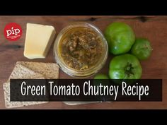 This is my super easy 'use what you have' green tomato chutney recipe. For when the days are getting shorter and the tomatoes stop ripening. Green Tomato Chutney Recipe, Chutney Recipes, Spicy Sauce, Green Tomatoes, Fennel Seeds, Chutneys, Fruits And Vegetables, Vegetable Recipes, Preserves