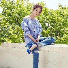 Song Ji Hyo for Banila Co. Pic via Instagram @banilaco_official