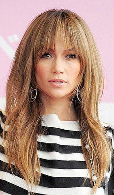 Frisuren lange haare mit fransen