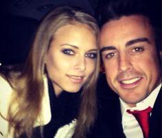 Dasha Kapustina, inseparable de Fernando Alonso #famosos