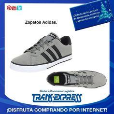 Para recibir el año a la moda y con las mejores marcas, Zapatos ADIDAS para caballero. TransExpress compras en internet en El Salvador. Costo aprox $100.61 http://amzn.com/B004ARUZJU