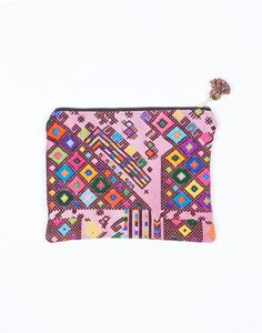 The Little Market Woven Cosmetic Reina Bag ($40)