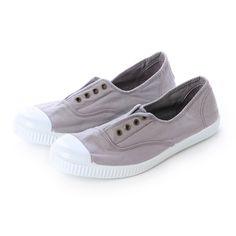 ヴィクトリア VICTORIA INGLES ELASTICO TENIDO PUNTO 6623(GRIS) -靴とファッションの通販サイト ロコンド
