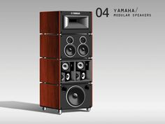 Idea Couture / Industrial Design Concept Showcase // Yamaha Modular Speakers  https://www.pinterest.com/0bvuc9ca1gm03at/