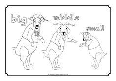 Best Photos Of Billy Goat Coloring Page Three Goats Gruff
