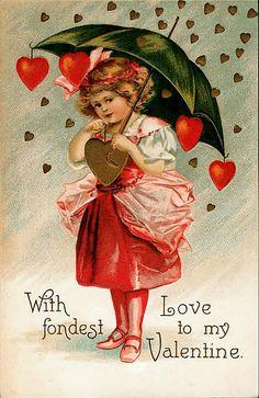 День святого Валентина! Винтажные открытки - Ярмарка Мастеров - ручная работа, handmade