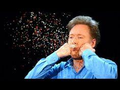 More Conan Super Slow-Mo Camera Moments - CONAN on TBS