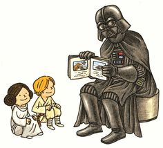 Tomorrow, Saturday October 11, is a big day for Star Wars fans—it's the 3rd annual Star Wars Reads Day! Hosting an event? download the activity kit for free: coloror black and white. And, because...