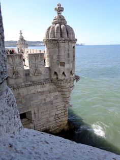 The Torre de Belém is a impressive Renaissance, loggia heightens the decoration. The tower's cultural significance is such that UNESCO has listed it as a World Heritage Site