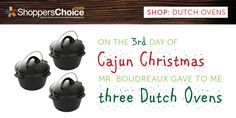 dutch ovens for cajun christmas cooking 12 days of christmas christmas cooking 12 days - Cajun 12 Days Of Christmas