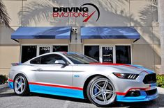 2017 Ford Mustang Petty's Garage 80th Tribute Edition