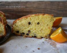 Torta pan d'arancio con cioccolato,una torta con arancia intera profumatissima e molto soffice