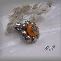 Ag patinované do starostříbra / Zboží prodejce zlatorenda Brooch, Rings, Floral, Flowers, Jewelry, Tatoo, Brooch Pin, Florals, Jewlery