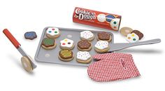 Slice and Bake Cookie Set - Wooden Play Food- oh wow, there's a cookie set of the slicing? I want all of this for my classroom.
