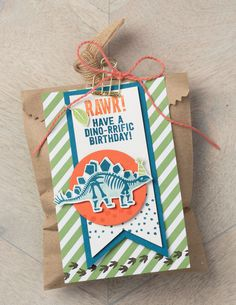 So Shelli - So Shelli Blog - Dinosaurs are Cool Stampin' Up!