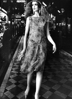 Cardin, photo by William Klein, Paris, 1960