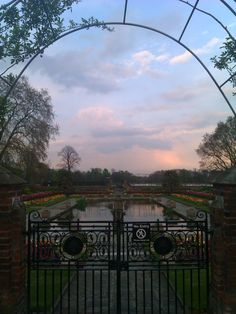 Kensington Palace Garden-    Kensington, London