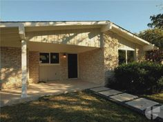 Mid Century Modern in 78704 with a big yard and brand new interior remodel.  Price: $649,000