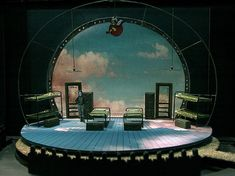 SKY GIRLS Northlight Theater, set design by Todd Rosenthal