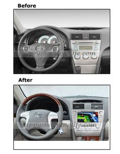 General function: 8 inch Car DVD Player fit Toyota Camry (2007-2011), GPS navigation with dual zone function, Bluetooth, USB, SD, Radio with RDS, iPod, Touch Screen, Support 3G and Wifi internet