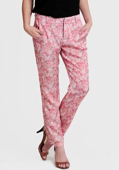 Flower Festival Printed Pants at #Ruche @mimi ヾ(^∇^)
