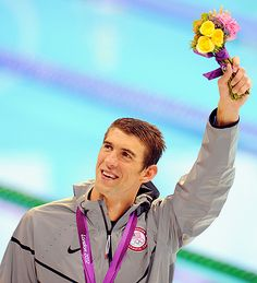 Michael Phelps.. the best athlete there ever was