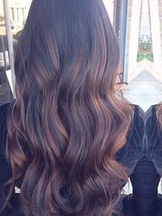 On a natural level 4 use Joico Vero color 40 vol. going heavier underneath. On a natural level 4 Hair Color And Cut, Hair Color Dark, Joico Hair Color, Hair Color Formulas, Hair Highlights, Subtle Highlights, Ombre Hair, Balayage Hair, Hair Painting