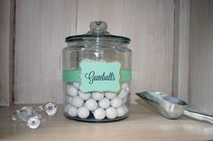 Candy Buffet Tags - Customized - Pack of 8