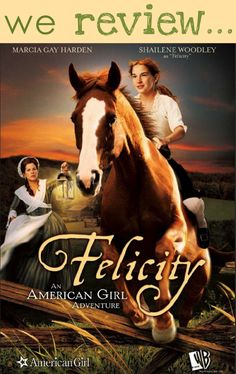 Felicity: An American Girl Adventure - Young, Felicity Merriman (Shailene Woodley) lives with her mo Horse Movies, Horse Books, Kid Movies, Family Movies, Great Movies, Movies To Watch, Movie Tv, Indie Movies, Comedy Movies