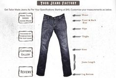 Stuff I've Gotta Share and You've Gotta See | Recipe Girl How to Make Your Own Jeans