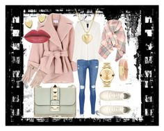 ... city look by petra-dickova on Polyvore featuring Derek Lam, Carven, Frame Denim, Valentino, Movado, Chico's, Finn, Bloomingdale's, women's clothing and women's fashion