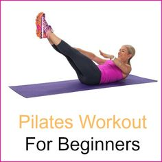 New to Pilates or an old pro? This workout is for you. Strengthen your core and back, flatten the tummy, and balance your body's strength and flexibility.