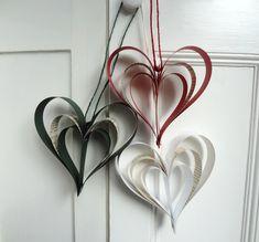 Enfeites de papel reciclado na decoração ecológica