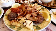 VISIT GREECE| Gyros & Keftedes (meat balls) by David Hoffmann