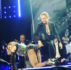 Stella McCartney gives Madonna a spanking on stage during London gig Madonna 2015, Madonna Live, Stella Mccartney, Paul Mccartney, Intimate Ideas, Rebel Heart Tour, Girl Spanked, Getting Spanked, Spanking Art