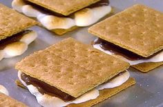 Xocai Chocolate S'mores... Only sugar is in the marshmallow! Choc is HEALTHY! (Try it... 181030)