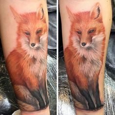 Fox Tattoo Designs For Men - Sly Ink Inspiration