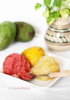 Fruit Sorbets!:D I wanna try these!