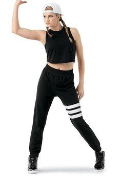 Triple-Stripe Hip-Hop Jogger Pants | Balera™