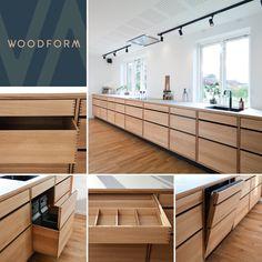 Kitchen Reno, New Kitchen, Kitchen Cabinets, Küchen Design, House Design, Scandinavian Kitchen, Danish Design, Kitchen Styling, Home Furniture