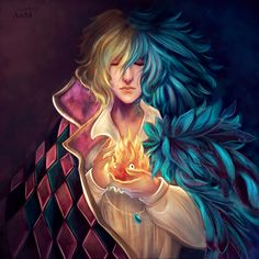 Howl by 2Niniel3.deviantart.com on @deviantART