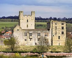 Helmsley Castle, home of Sir William de Ros descent of William I the Lion King of Scotland (22gg via lewis/towneley)