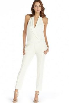 Haute Hippie Halter Neck Jumpsuit | 17 Impossibly Pretty Solange-Inspired Bridal Jumpsuits